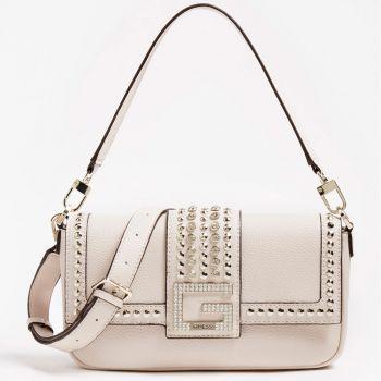 GUESS Bling Line – Stone Shoulder Bag for Women