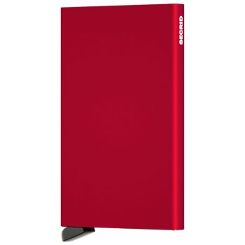 SECRID Cardprotector Aluminum Red with RFID