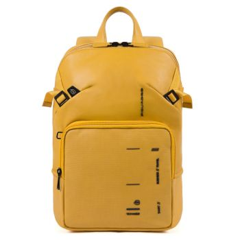 PIQUADRO Kyoto Line – Yellow Leather Backpack CA4923S106