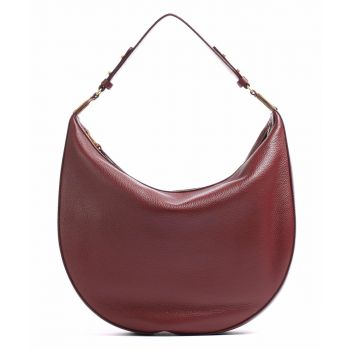 COCCINELLE Anais Line - Marsala Colour Leather Woman Hobo Bag