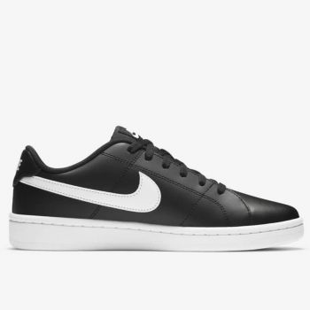 NIKE Nike Court Royale 2 Low Line – Black White Leather Sneakers