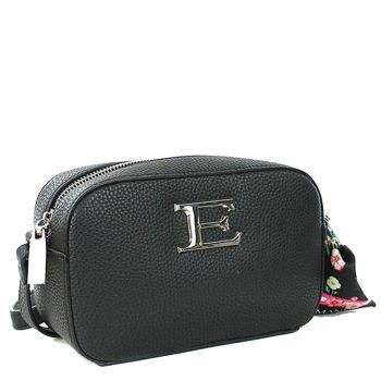 ERMANNO SCERVINO Black Woman Crossbody Bag Eba Summer