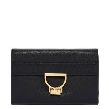 Borsa Donna Hand LADYBIRDS Leather Line Arlettis Black