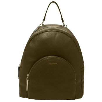 COCCINELLE Evergreen Leather Woman Backpack Alpha Line