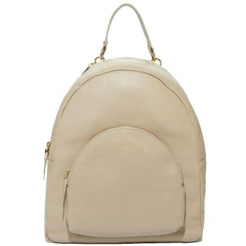 COCCINELLE Seashell Leather Woman Backpack Alpha Line