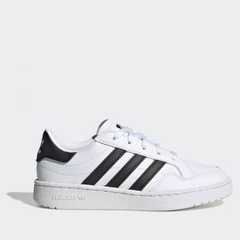 ADIDAS Team Court C Line – Black and White Sneakers