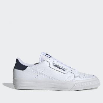 ADIDAS Continental Vulc Line – White and Blue Sneakers