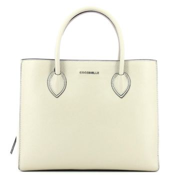COCCINELLE Seashell Leather Woman Handbag EG5 Farisa Line