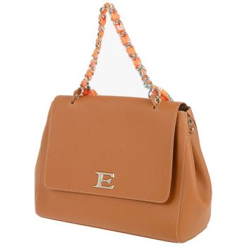 ERMANNO SCERVINO Tan Woman Shoulder Bag Eba Summer Line Medium Size
