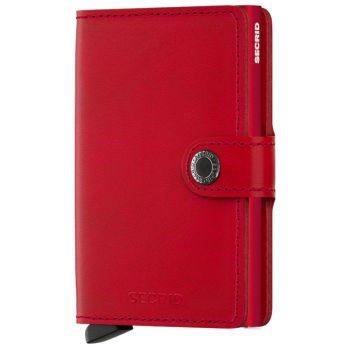 SECRID Miniwallet Original Red-Red with RFID