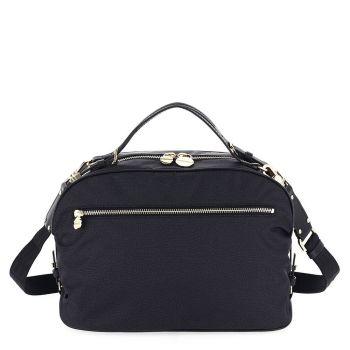 BORBONESE Sexy Bag Line – Jet Op Black Handle Bag