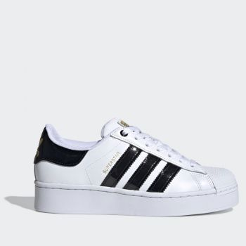 ADIDAS Superstar Bold W Lined – White Black Sneakers for Women