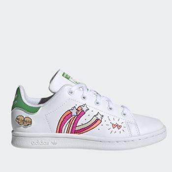ADIDAS Stan Smith C Line – White Green Sneakers