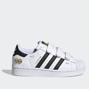 ADIDAS Superstar CF C Line – White and Black Sneakers