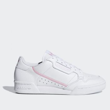 ADIDAS Continental 80 Line – White and Pink Leather Sneakers