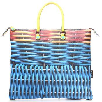 GABS G3 Plus Cesto Print Convertible Handbag Large Size