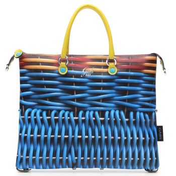 GABS G3 Plus Cesto Print Convertible Handbag Medium Size