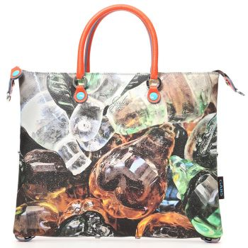 GABS G3 Plus Vetro Print Convertible Handbag Medium Size