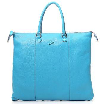 GABS G3 Plus Turquoise Leather Convertible Handbag Large Size
