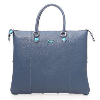 Woman's handbag with shoulder strap GABS G3 Plus Convertible Skin Matte Navy Media