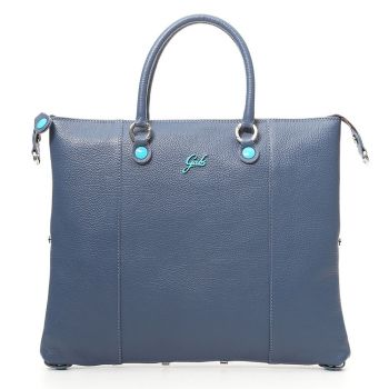 Woman's handbag with shoulder strap GABS G3 Plus Convertible Skin Matte Navy Large