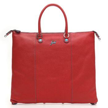 GABS G3 Plus Red Leather Convertible Handbag Medium Size