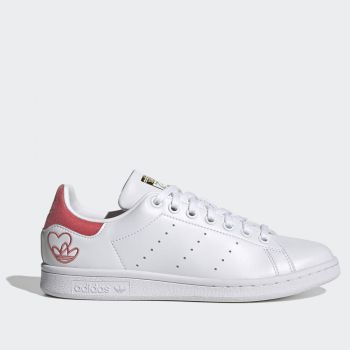 ADIDAS Stan Smith Line – White and Pink Sneakers