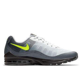 NIKE Air Max Invigor Line – Black Grey Yellow Fabric Mesh Sneakers