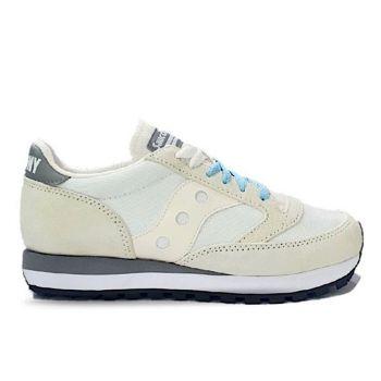Saucony Jazz 81 Line – White Jet Stream Grey Sneakers
