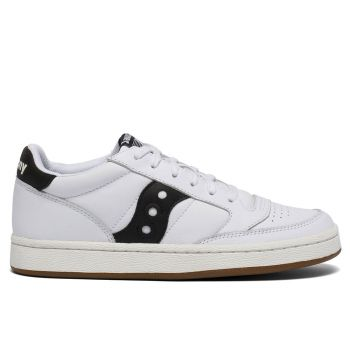 Saucony Jazz Court Line – White and Black Sneakers
