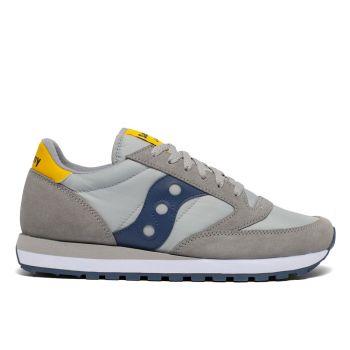 Saucony Jazz Original Line – Grey - Yellow Sneakers