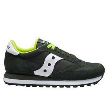 Saucony Jazz Original Line – Dark Green Sneakers