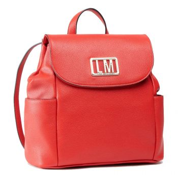 LOVE MOSCHINO Red Backpack with LM Logo JC4149