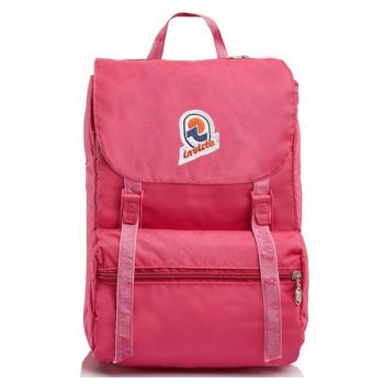 INVICTA Jolly Color Vintage Line - Pink Fabric Backpack