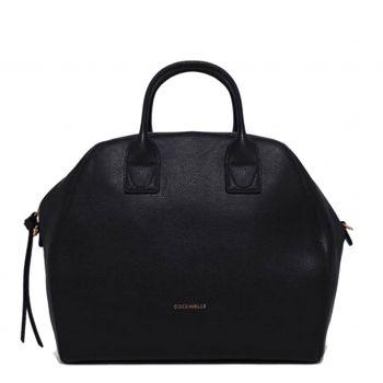 COCCINELLE Ela Journal Line – Maxi Black Handle Bag