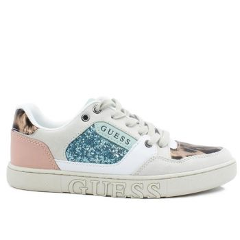 GUESS Julien Line – White Black Sneakers