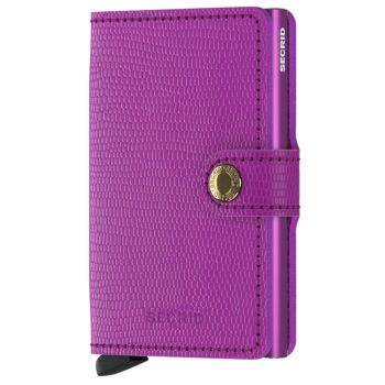 SECRID Miniwallet Rango Violet Leather with RFID