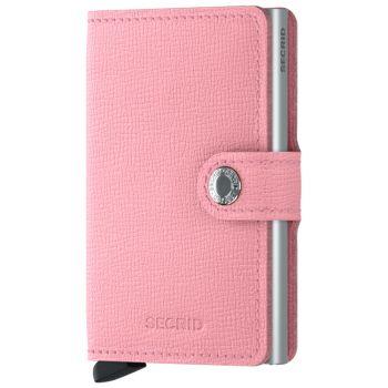 SECRID Miniwallet Crisple Pink Leather with RFID