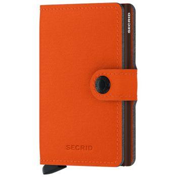 SECRID Miniwallet Yard Orange Microfibre with RFID