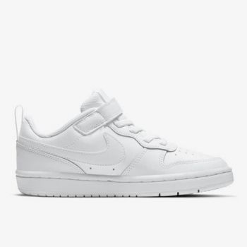 NIKE Nike Court Borough Line – Low White Sneakers for Kids