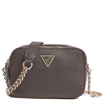 GUESS Noelle Line – Black Shoulder Bag