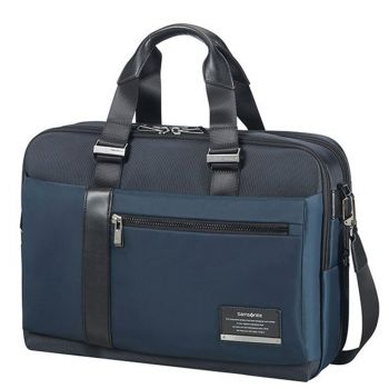 """SAMSONITE Blue Fabric Briefcase 15,6"""" Openroad/Bailhandle"""