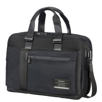 "SAMSONITE Black Fabric Briefcase 15,6"" Openroad/Bailhandle"