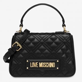 LOVE MOSCHINO Black Handle Bag with Quilted Effect