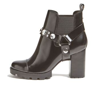 GUESS Reza Line – Black Ankle Boots For Women