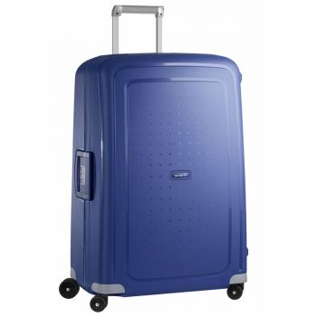 SAMSONITE Trolley Hard Shell Large Size 4 Wheels 75 cm S'Cure Dark Blue Line