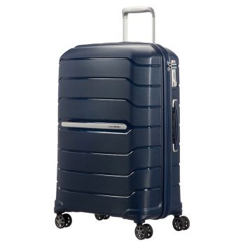 Trolley Medio 68cm Espandibile 4 Ruote - Samsonite Flux Blu