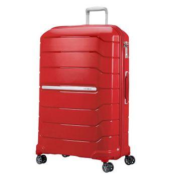 Trolley Grande 75cm Espandibile 4 Ruote - Samsonite Flux Rosso