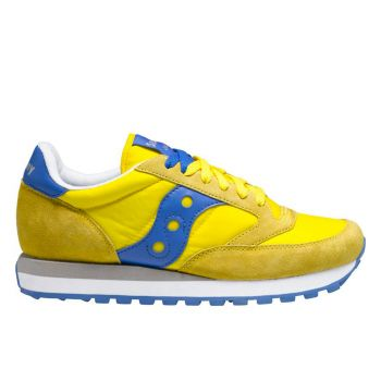 Saucony Jazz Original Yellow - Blue Sneakers For Men