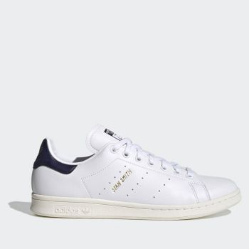 ADIDAS Stan Smith Line – White Blue Faux Leather Sneakers